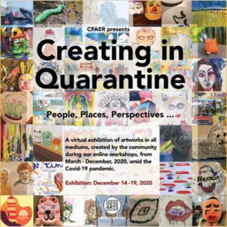Creating in Quarantine Virtual Exhibition
