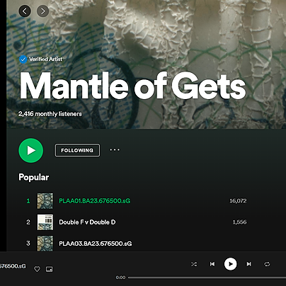 @gets Spotify Playlists Link Thumbnail | Linktree