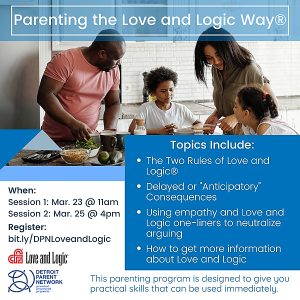 Parenting the Love and Logic Way - Registration