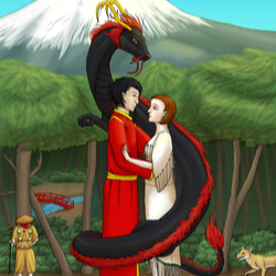 @amehana Dragon Shaman Series Site Link Thumbnail   Linktree