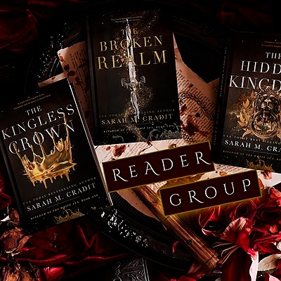Author Sarah M. Cradit Kingdom of the White Sea Reader Group Link Thumbnail | Linktree