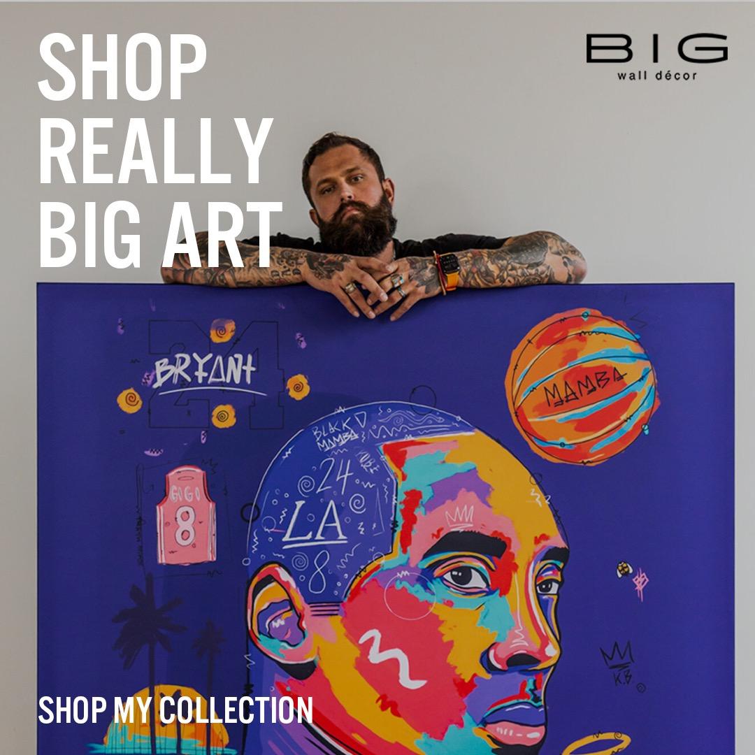 @Nuwarhol Shop Bigwall Decor Link Thumbnail | Linktree