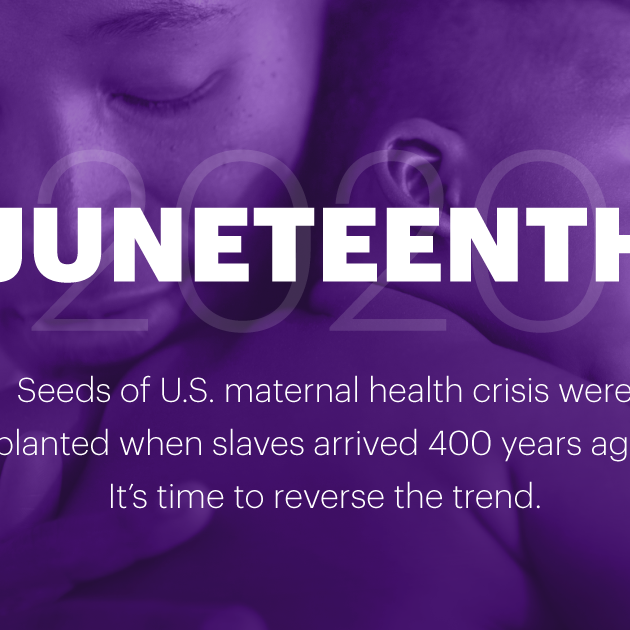 On Juneteenth let's envision a better future for Black moms and babies
