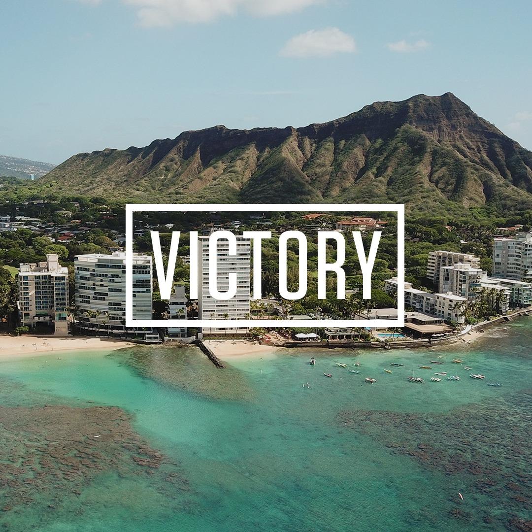 Victory on Oahu