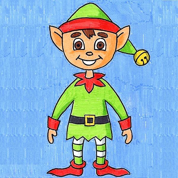 @artprojectsforkids Draw an Elf Link Thumbnail   Linktree
