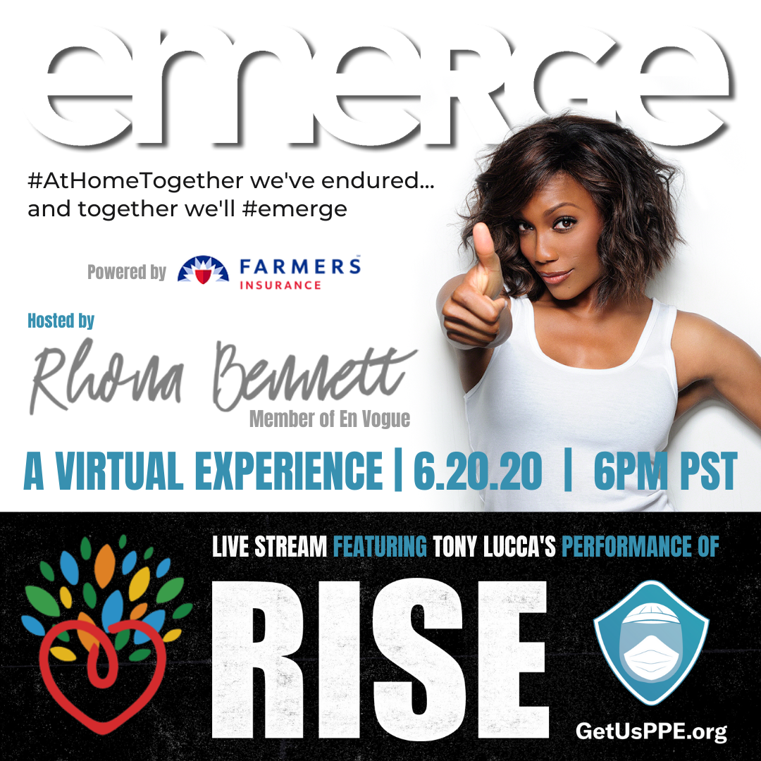 WATCH TRAILER: #Emerge Experience (Hosted by Rhona Bennett & feat. Tony Lucca)