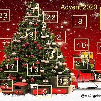 @RebeccaAllgeier Advent Calendar Link Thumbnail | Linktree