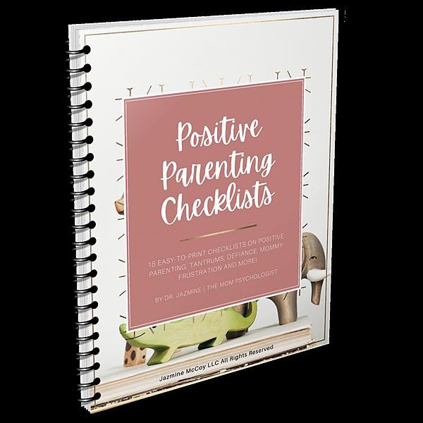 The Mom Psychologist FREE Positive Parenting Checklist Bundle Link Thumbnail | Linktree