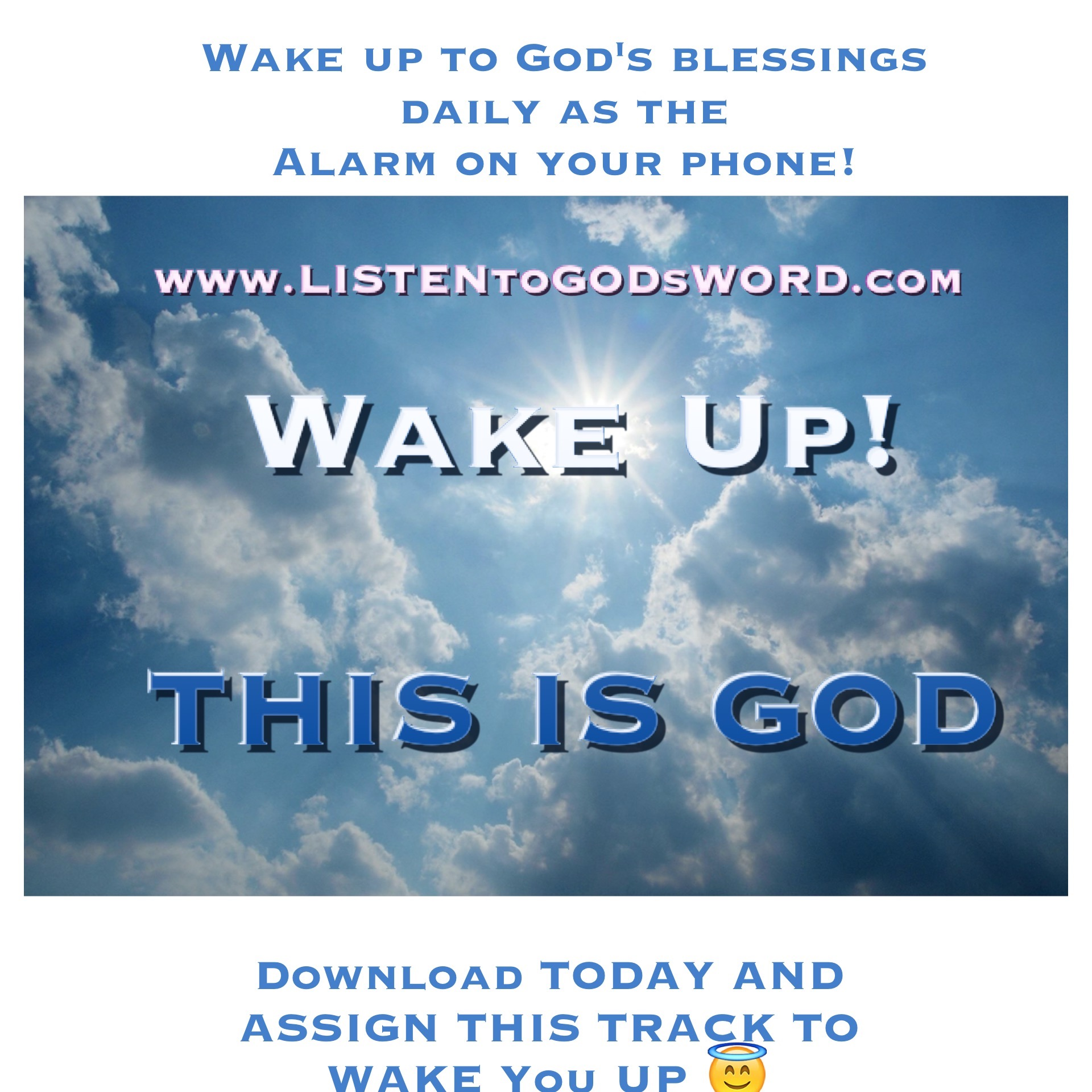 WAKE UP, This is GOD Alarm Sound Amazon Track #2