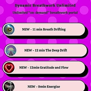 Dynamic Breathwork Subscription to Dynamic Breathwork Unlimited platform Link Thumbnail   Linktree