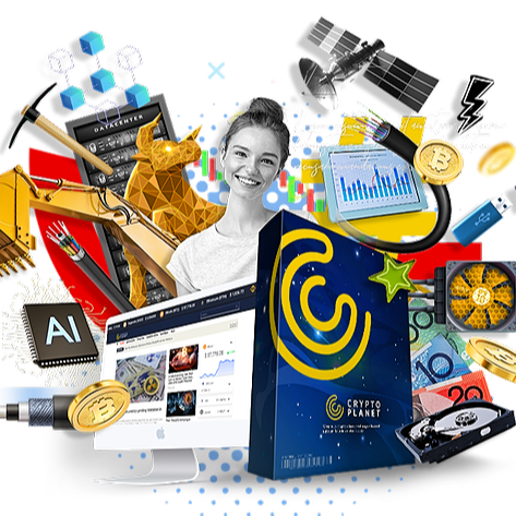 Cedar Marketing Network Crypto Planet -  Software to use to create websites with a few clicks that runs automatically on google and drives searches to the site.  Searches for Bitcoin on YouTube, Google are done daily by an enormous amount of people.  Then insert affiliate links  Link Thumbnail | Linktree