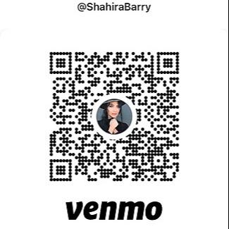 Thanks for the coffee 😇 Venmo @ShahiraBarry