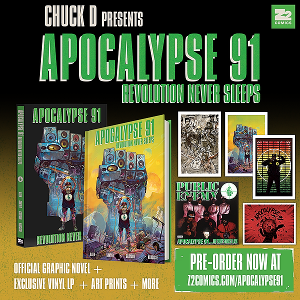 Public Enemy Z2 Comics x Public Enemy - Apocalypse '91 Link Thumbnail | Linktree
