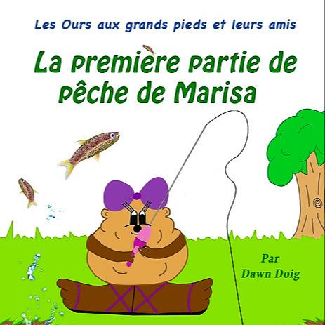 Marisa's First Fishing Trip (French): une partie de pêche éducative et pleine d'aventures avec Grand-père.