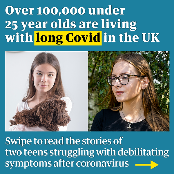 @guardian 'What is happening to me?' The teenagers trying to make sense of long Covid Link Thumbnail   Linktree