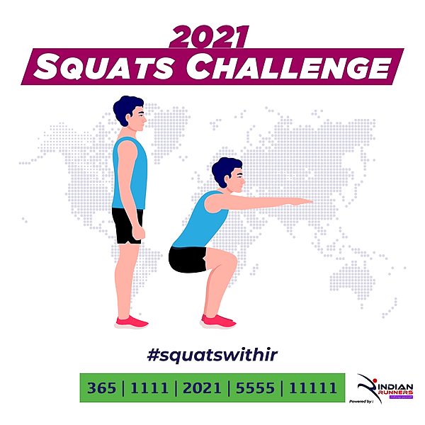 Indian Runners SQUATS CHALLENGE Link Thumbnail | Linktree
