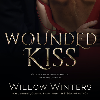 Wounded Kiss - a high heat paranormal romance - is available now!  Get snuggled up and enjoy!