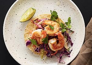 Shrimp Taco Tostadas Recipe