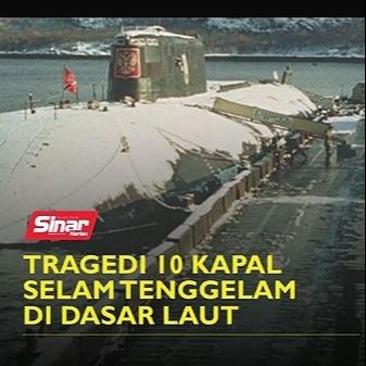 @sinar.harian Tragedi 10 kapal selam tenggelam di dasar laut Link Thumbnail | Linktree