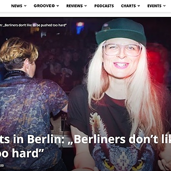 "Groove Mag: Breakbeats in Berlin: ""Berliners don't like to be pushed too hard"""