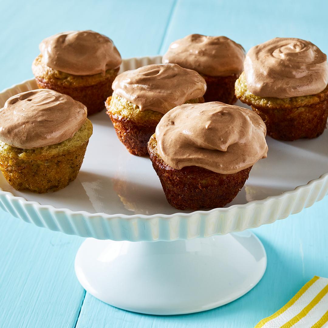 Mini Banana Cupcakes Recipe