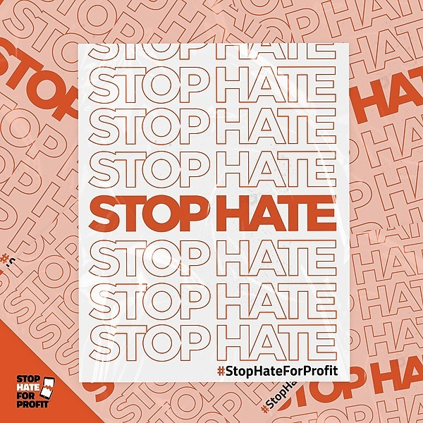#StopHateForProfit - sign the petition