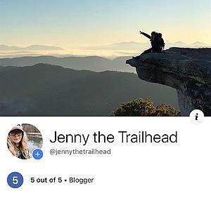 Jen P. | Jenny the Trailhead Facebook Link Thumbnail | Linktree