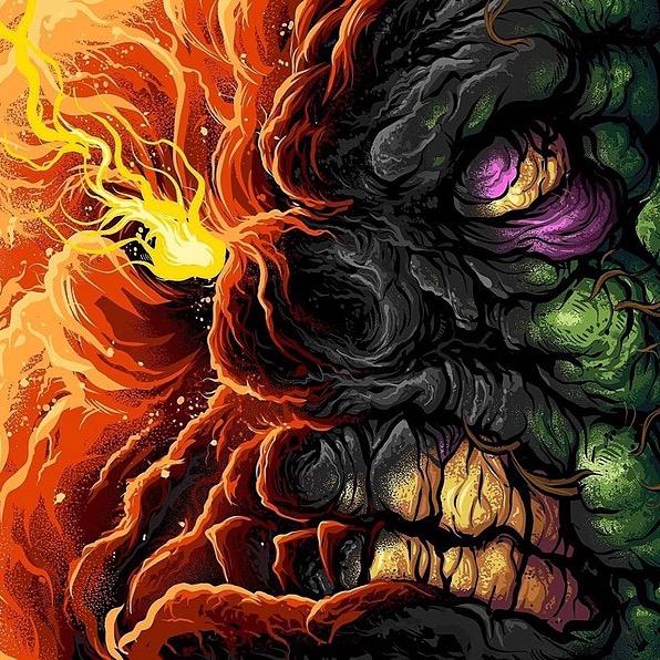 "@MajikNinjaEnt A.X.E. ""Necronomichron 2: Dead by Bong"" Link Thumbnail | Linktree"