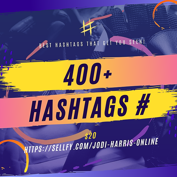 CEO of FUN /Event Producer/DJ LIST IS HERE!  750+ SOCIAL MEDIA HASHTAGS FOR EVENT PROS Link Thumbnail | Linktree