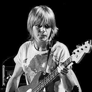 Tina Weymouth, bass player, Talking Heads and Tom Tom Club