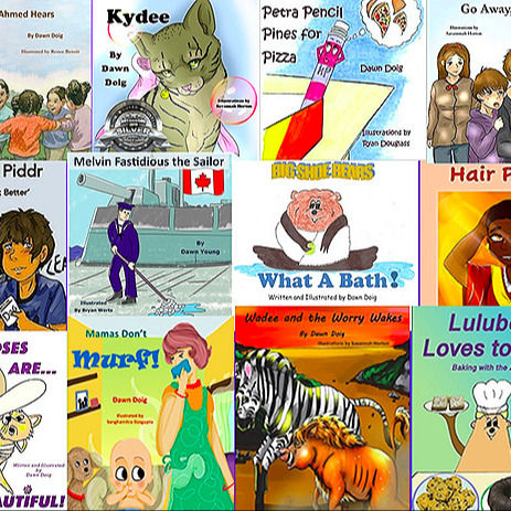 Dawn Doig Books - A variety of 15 children's picture books