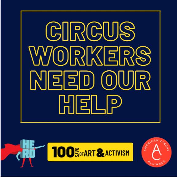 @BeAnArtsHero SIGN!  Circus Worker's Letter to President Biden and VP Harris Link Thumbnail | Linktree