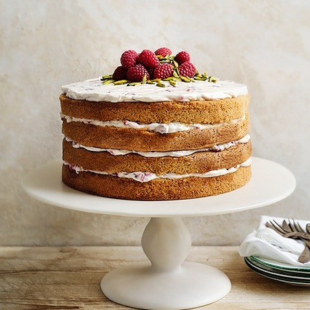 @donnahaymagazine Almond rosewater layer cake with honey icing Link Thumbnail   Linktree
