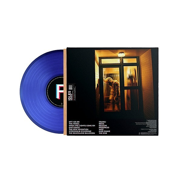 @idlesband Rough Trade Exclusive TRANSLUCENT Blue CRAWLER LIMITED EDITION LP Link Thumbnail | Linktree