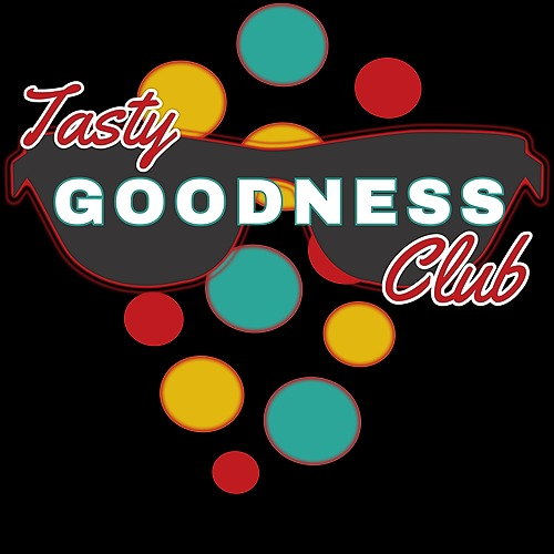 Graphics Printed & You wear! Tasty Goodness Club T-shirt release on AmazonMerch Link Thumbnail | Linktree