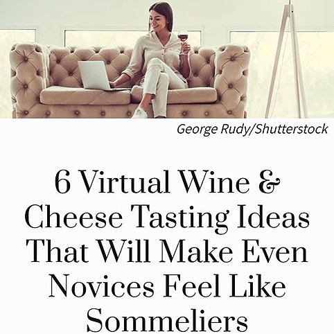 6 Virtual Wine & Cheese Ideas